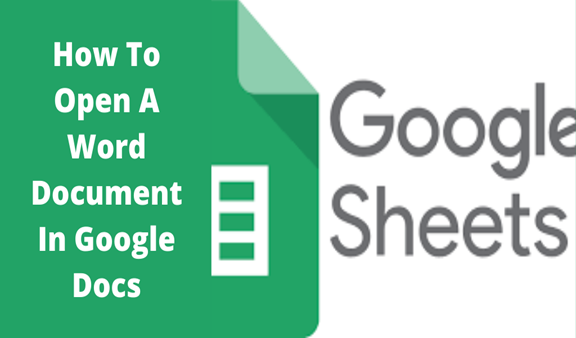 Read more about the article How To Open A Word Document In Google Docs