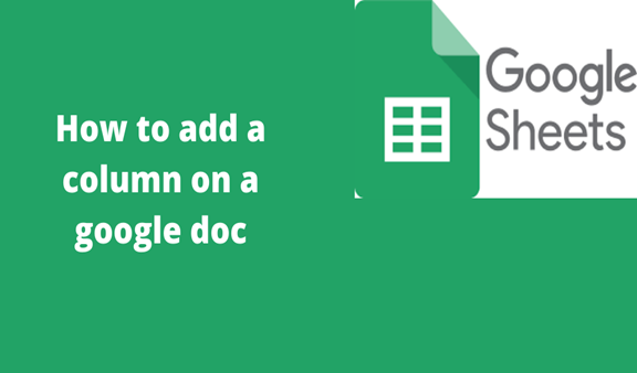 Read more about the article How to add a column on a google doc
